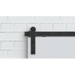 Ocelový posuvný systém TOP 50 guľatý, pre jedny dvere