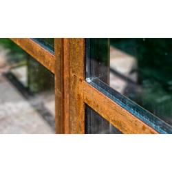 Cortenové okno s izolačným...