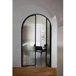 Kovové dvere so sklenenou...