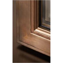 Bronzové okno s izolačným...