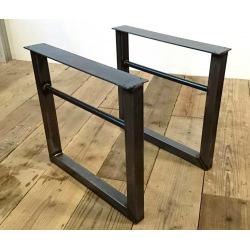 Kovové hranaté podnožie stola typ 11