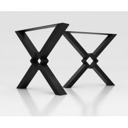 Industriálne kovové nohy k stolu typ 12