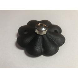 Ocelová krytka domového zvončeka Kvetinka