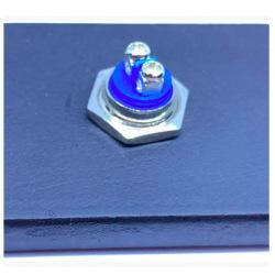 Ocelová krytka domového zvončeka Kvetinka sivá