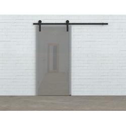 Posuvný systém na celosklenené dvere Glass 80, pre jedny dvere