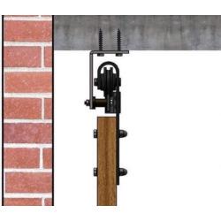 Posuvný systém Retro Barn s uchytením do stropu - pre 2 krídlo
