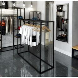 Oceľový vešiak do obchodov a šatní v180xš160xh50cm