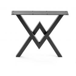 Oceľové nohy k stolu 2V...