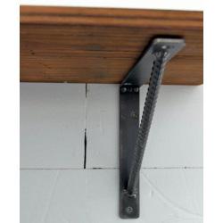 Industriálny držiak na nástenné police Roxor 25cm