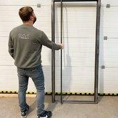 Kontrola✌️ #dvere #dveře #dverenamiru #ocelovedvere #kovovedvere #modernidvere #interierovedvere #innentüren #turen #ture #türe #innen #innentüren #innentüren🚪 #stahltüre #metalltür #modernetüren #musthave
